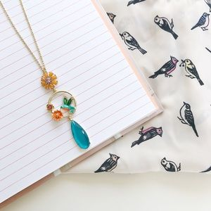Hummingbird Vintage Necklace